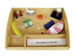 Blue Interpretive Sentences w/ Objects & Tray
